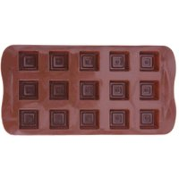 15 Cavities DIY Chocolate Silicone Square Grid Mold Cookie Baking Moulds